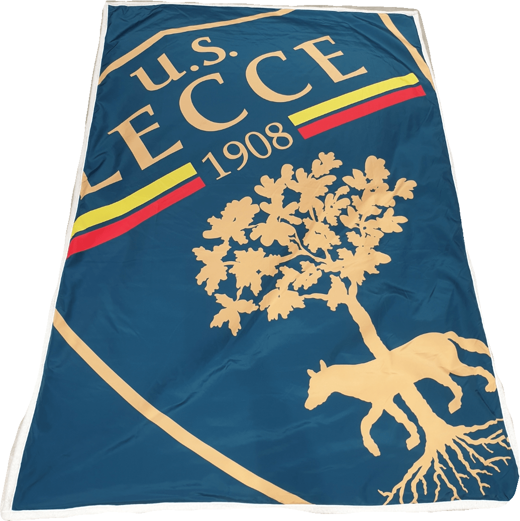 U.S. LECCE – COPERTA PESANTE SCUDETTO BLU